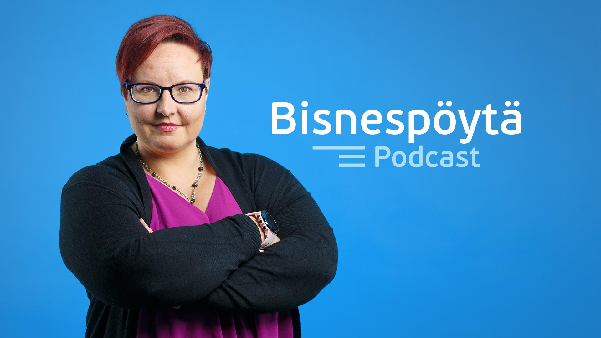 Businesspöytä yrittäjän oma podcast