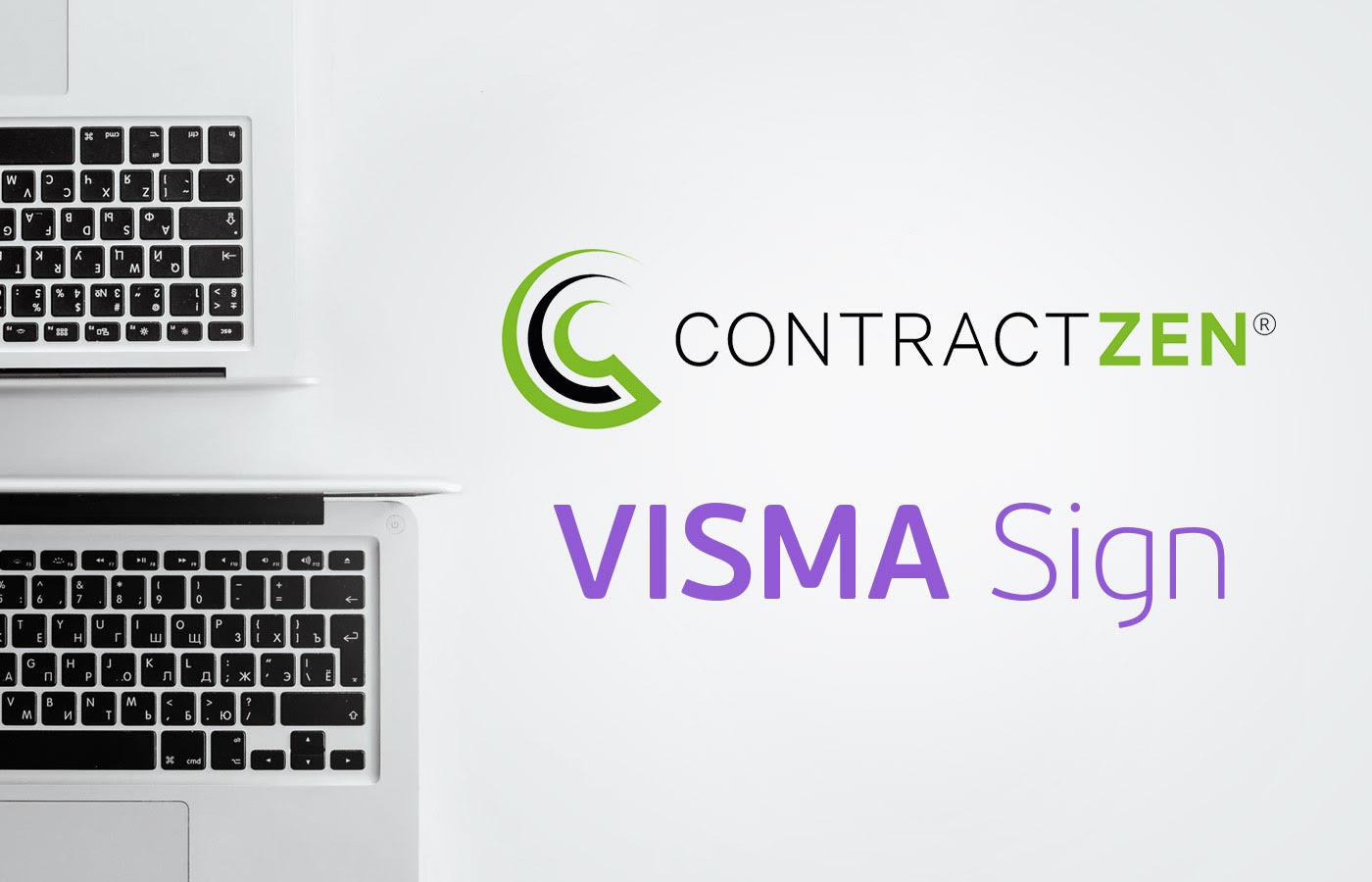 Visma Sign ja ContractZen yhdessä tehostamaan sopimusten- ja kokoustenhallintaa