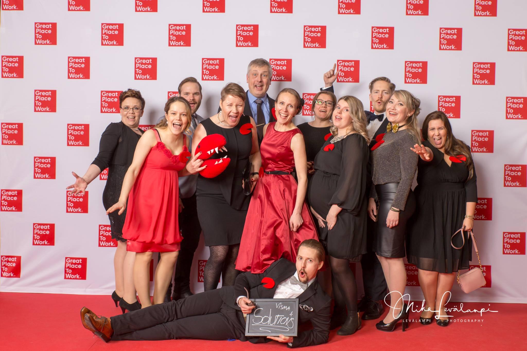 Visma Solutions yksi Suomen parhaista työpaikoista