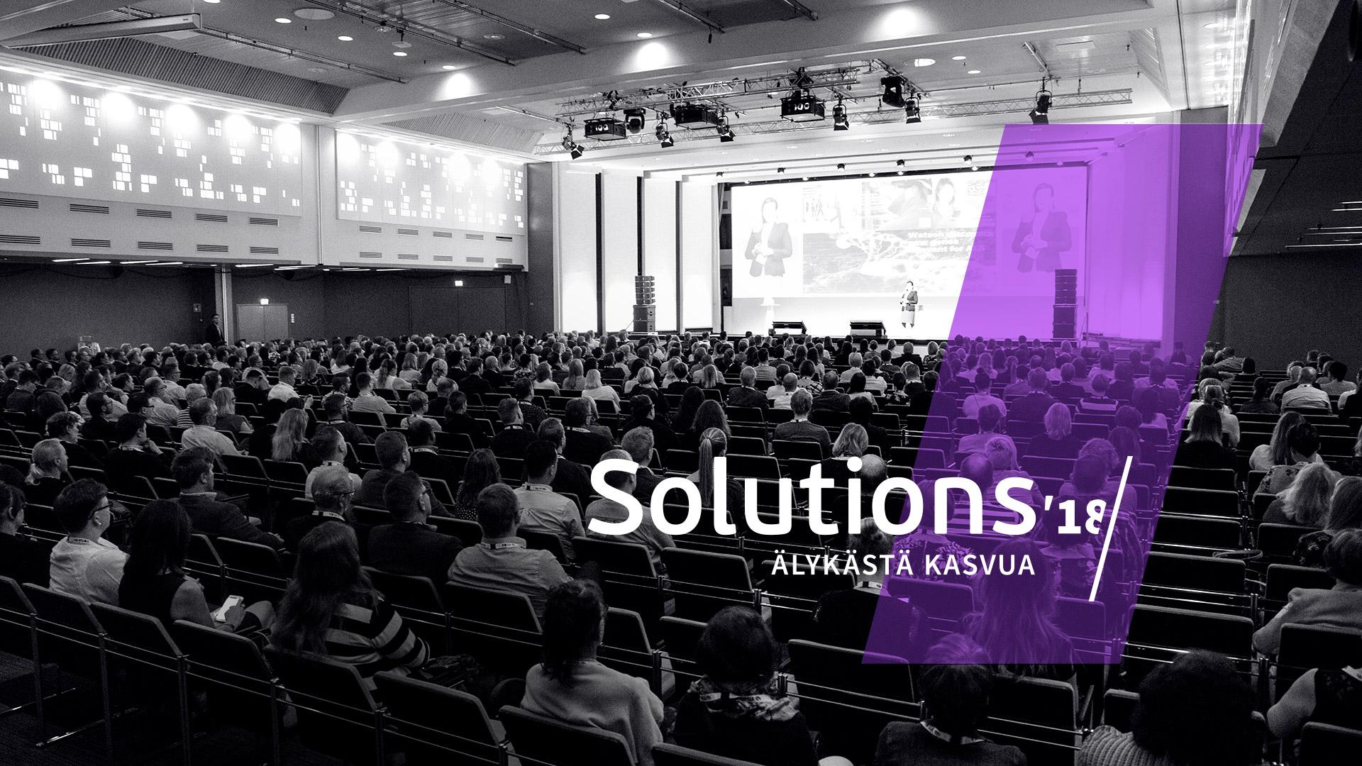 Vuoden tilitoimisto valittiin Solutions'18 -tapahtumassa