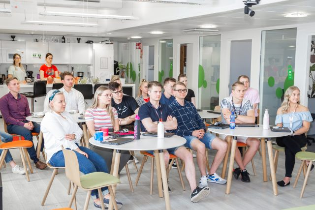Visma Solutions Summer Trainee