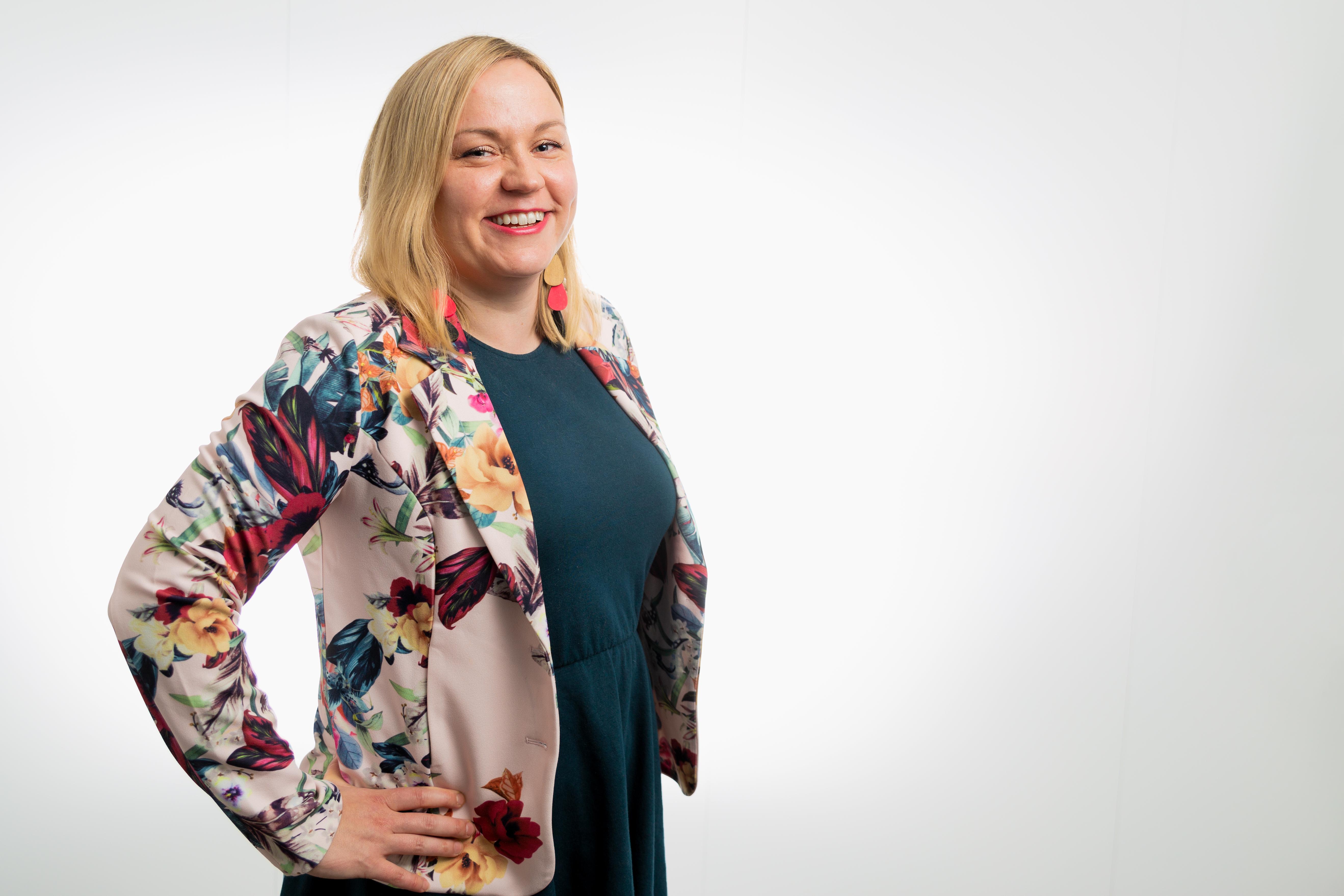 Visma Solutionsin markkinointijohtaja Tiina Laapio