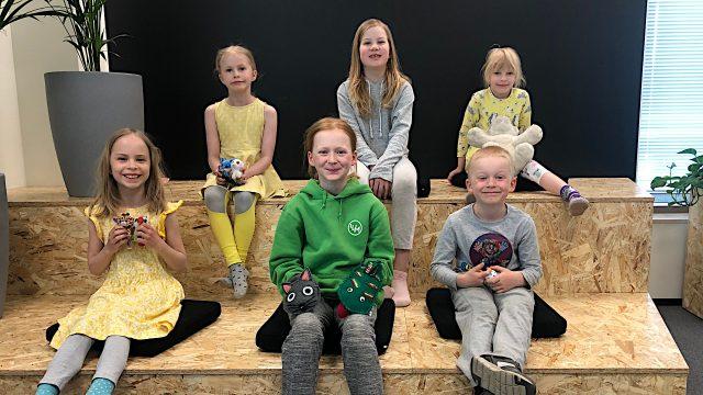 Visma Solutionsin kesäkerhoon osallistuu päivittäin vajaat kymmenen lasta.