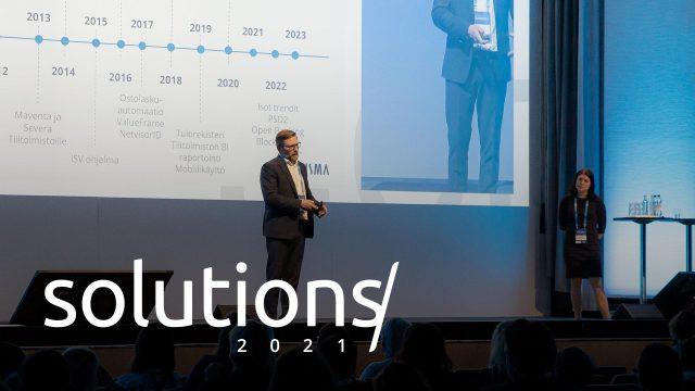 Solutions'21 tapahtuma tulee taas.